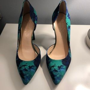Jessica Simpson D'Orsay Pointed Toe Heels